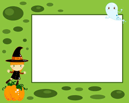 Halloween card Stock Photo - 9862514