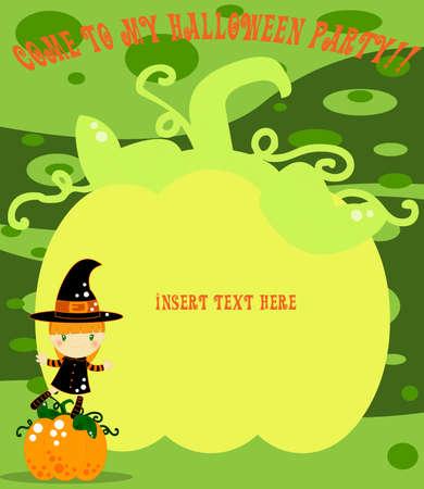 Halloween card Stock Photo - 9865709