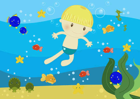 underwater life Stock Photo - 10600568