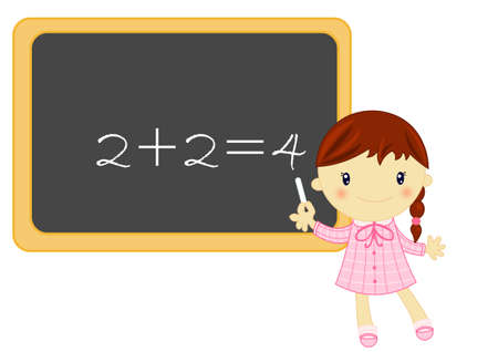 teaching children: math lesson