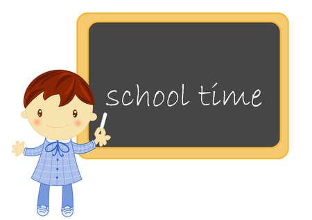 school time photo