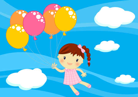 yo: child with balloons