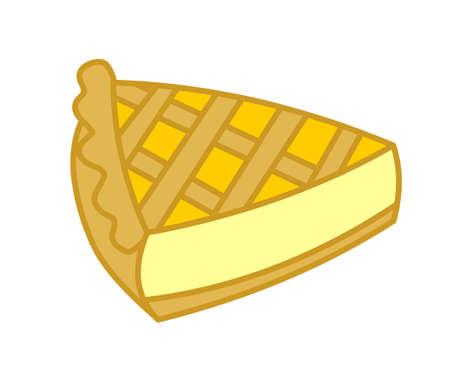 lowbrow: slice of cake Stock Photo