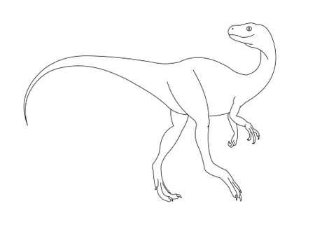 omnivore: dinosaur Stock Photo