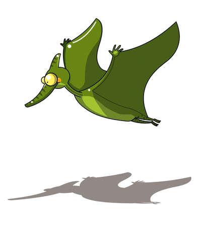 dinosaurio caricatura: pterosaurios dinosaurios