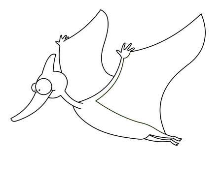pterosaurs dinosaur Stock Photo - 13356237