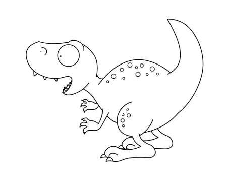 T-rex dinosaur Stock Photo - 13356239