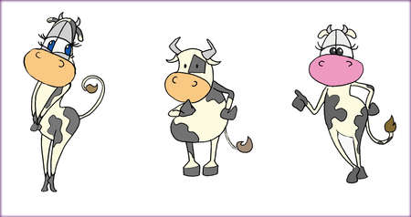 cows page Stock Photo - 13589822