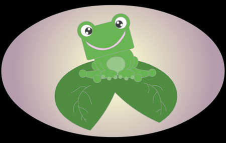 cute frog Stock Photo - 13620654