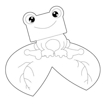 cute frog Stock Photo - 13651102