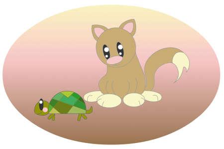 cat turtle photo