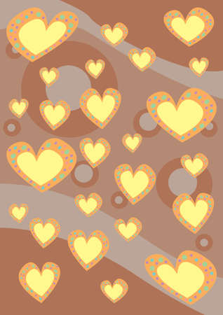 hearts pattern photo