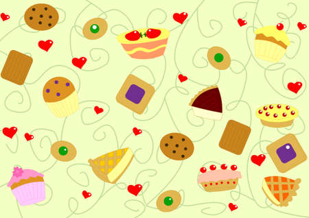 cake background Stock Photo - 13662857