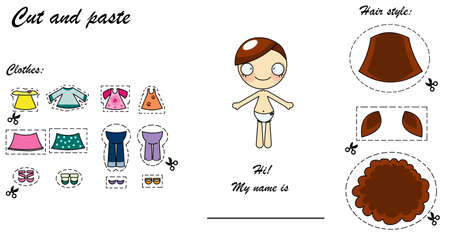 dressing doll Stock Photo - 13757154