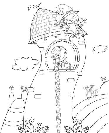 rapunzel: Rapunzel fairytale