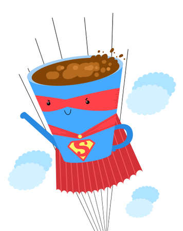 super coffeee Stock Photo - 18460198