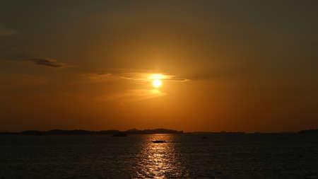 Sunset at Batam Island