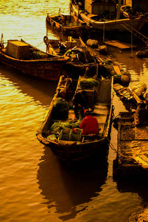fishing boats: Fishing boats