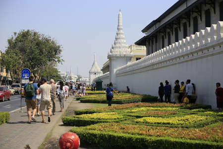the grand palace: Thailand Grand Palace building Editorial