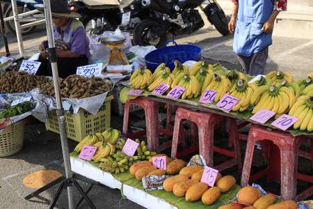 thailand fruit: Thailand fruit stands Editorial