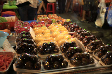 thailand fruit: Thailand fruit stands Stock Photo
