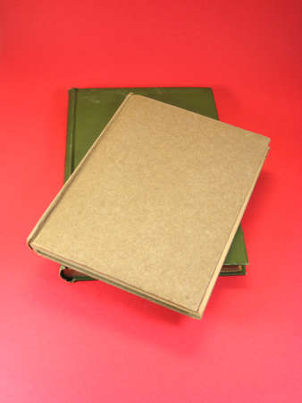 hardback: Old hardback books with yellowing pages and dog earred