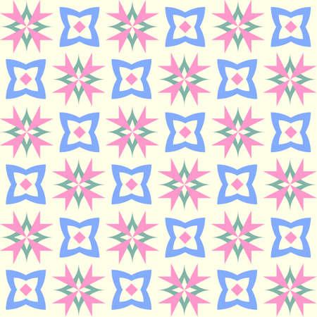 Seamless geometric abstract patterns. Vector illustration. Element, design. Иллюстрация