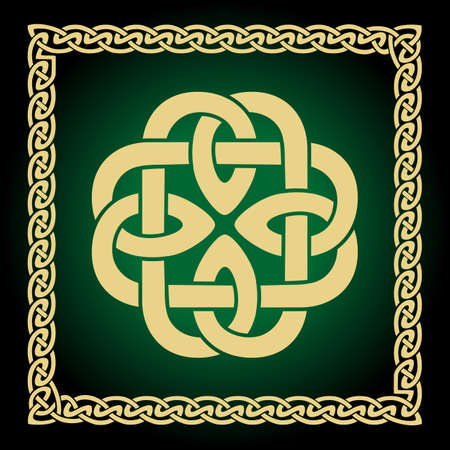 Celtic Knots Patterns to use in tattoos or designs. Vector illustration