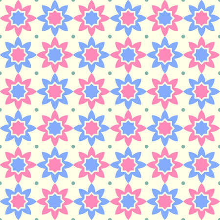 Seamless geometric abstract pattern. Vector illustration. Element design