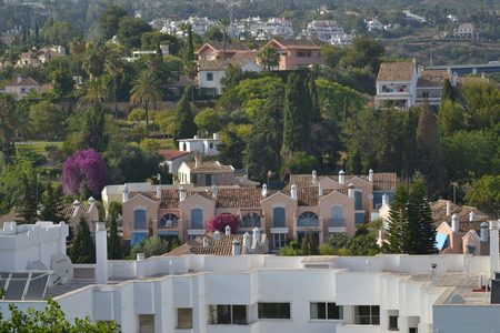 sierra: View without the Sierra Blanca mountains in Marbella