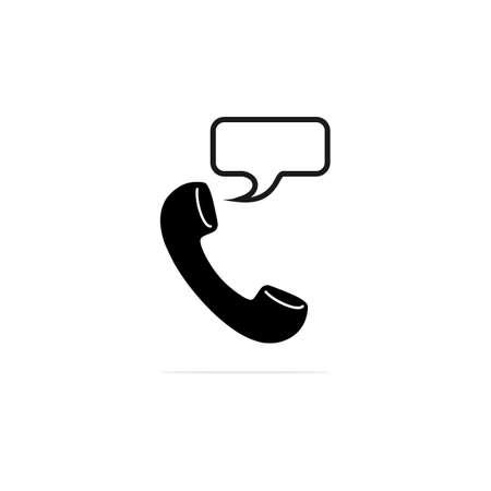 Phone icon. Vector concept illustration for design. Illustration