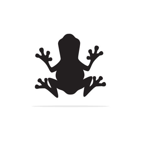frog Icon. Vector concept illustration for design. Illustration