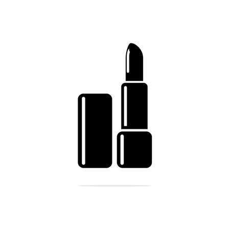 lipstick Icon. Vector concept illustration for design. 矢量图像