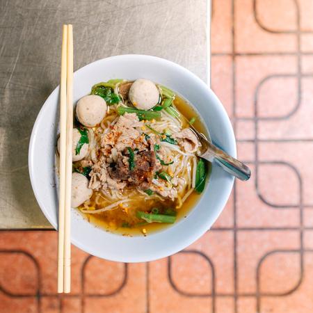 Rundvlees noodle soep