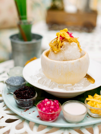 Cambodian shaved ice