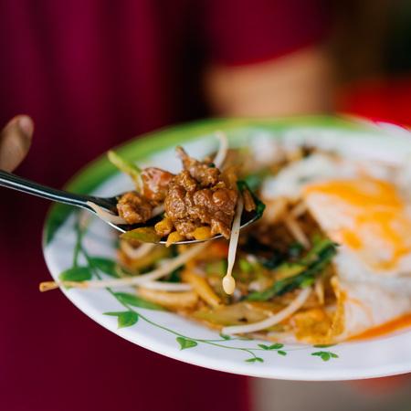 Cambodian lort cha