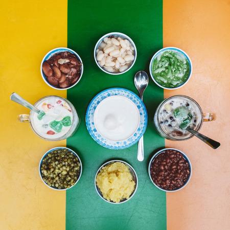 Vietnamese zoete desserts Stockfoto