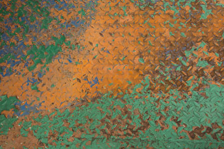 oxidate: Background of rusted steel plate