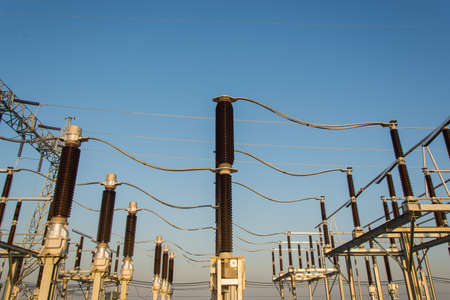 High voltage sub station for tranfrom electricity