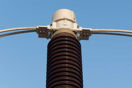 Equipment of high voltage sub station for tranfrom electricity