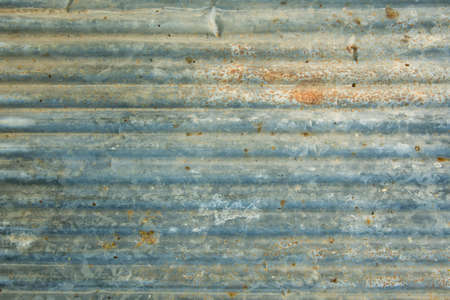 oxidate: Background of rusted steel sheet Stock Photo