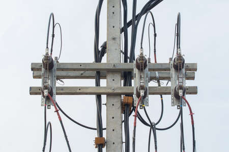 unorganized: Part of electricity equipment on post