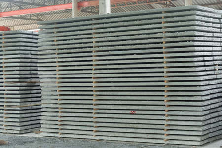 prefab: Precast concrete floors in plant