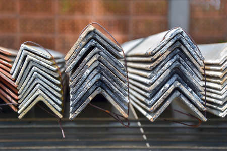 The angle steel cross section