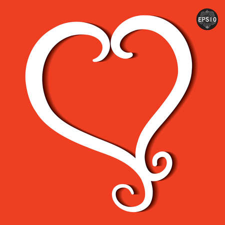 Red heart,vector, eps10 Stock Vector - 17399783