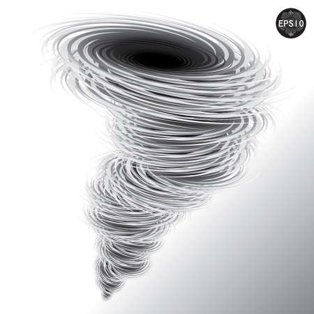 Illustration of tornado, Hurricane, Vector Stock Vector - 17399827