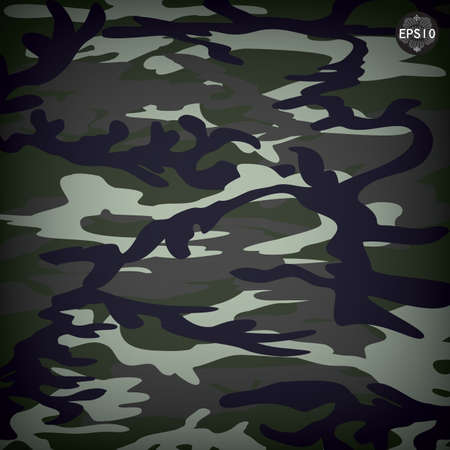 Camouflage military, vector