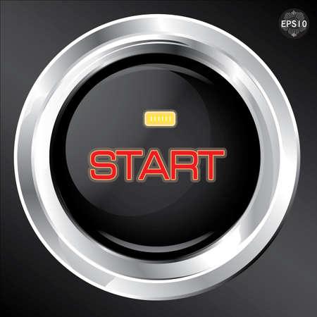 Engine start button, Vector