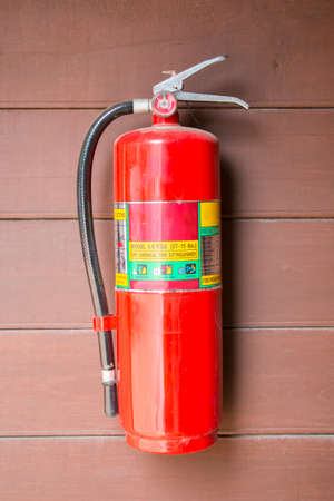fire extinguishers: Fire extinguishers