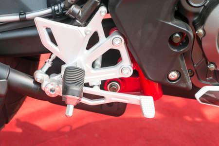 chorme: Motorbike foot pegs